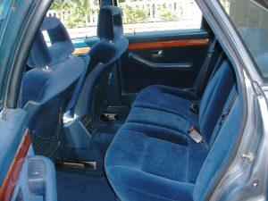 sièges arrières