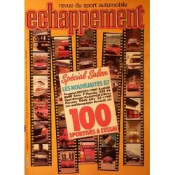 Echappement n° 216 - 100 sportives à l'essai - octobre 1986