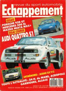 Echappement n 249 - Juillet 1989